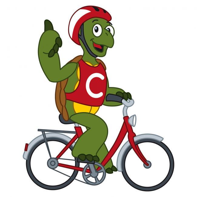 Moti pedalejant.