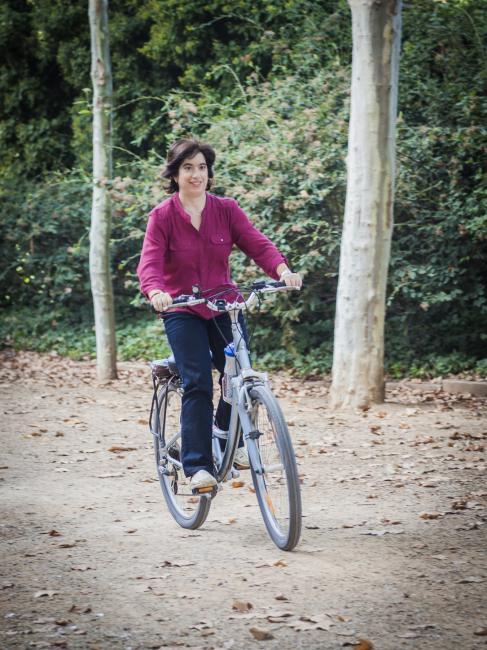 A pedals pel Passeig de la Boca de la Mina, Reus